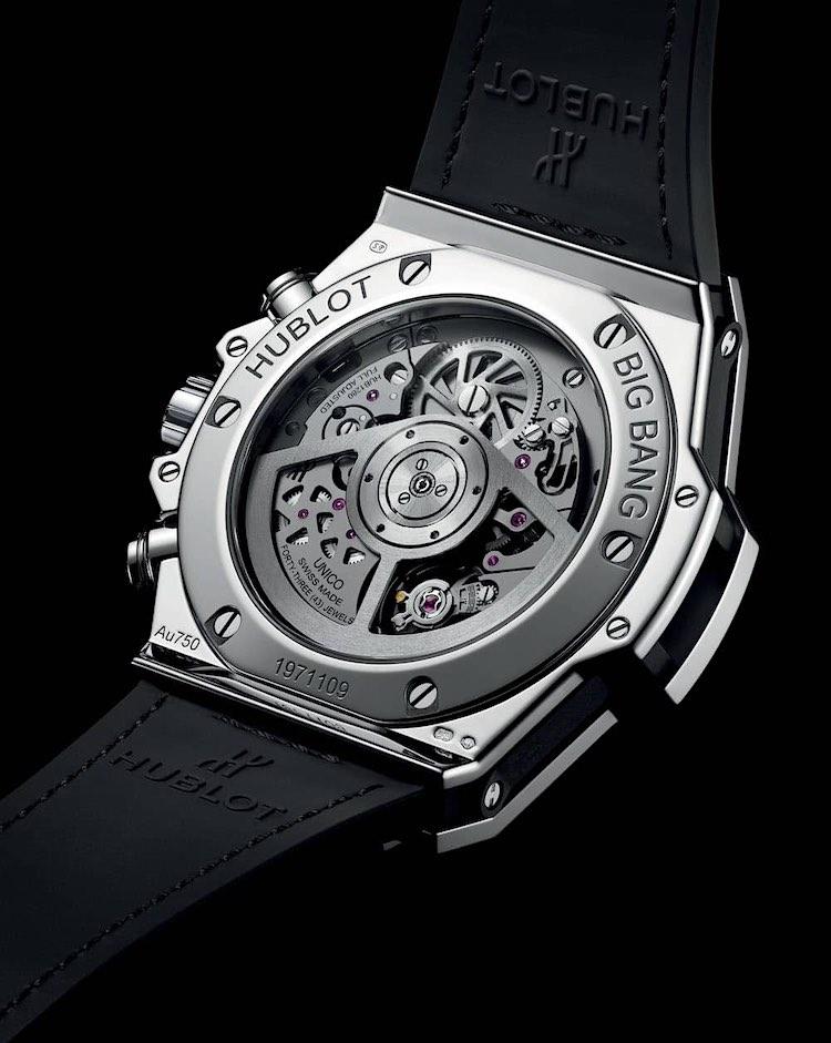 Reloj Hublot Big Bang Unico de alta joyería