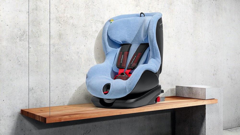 Nueva generación de sillas infantiles: máxima seguridad para los porschistas más jóvenes