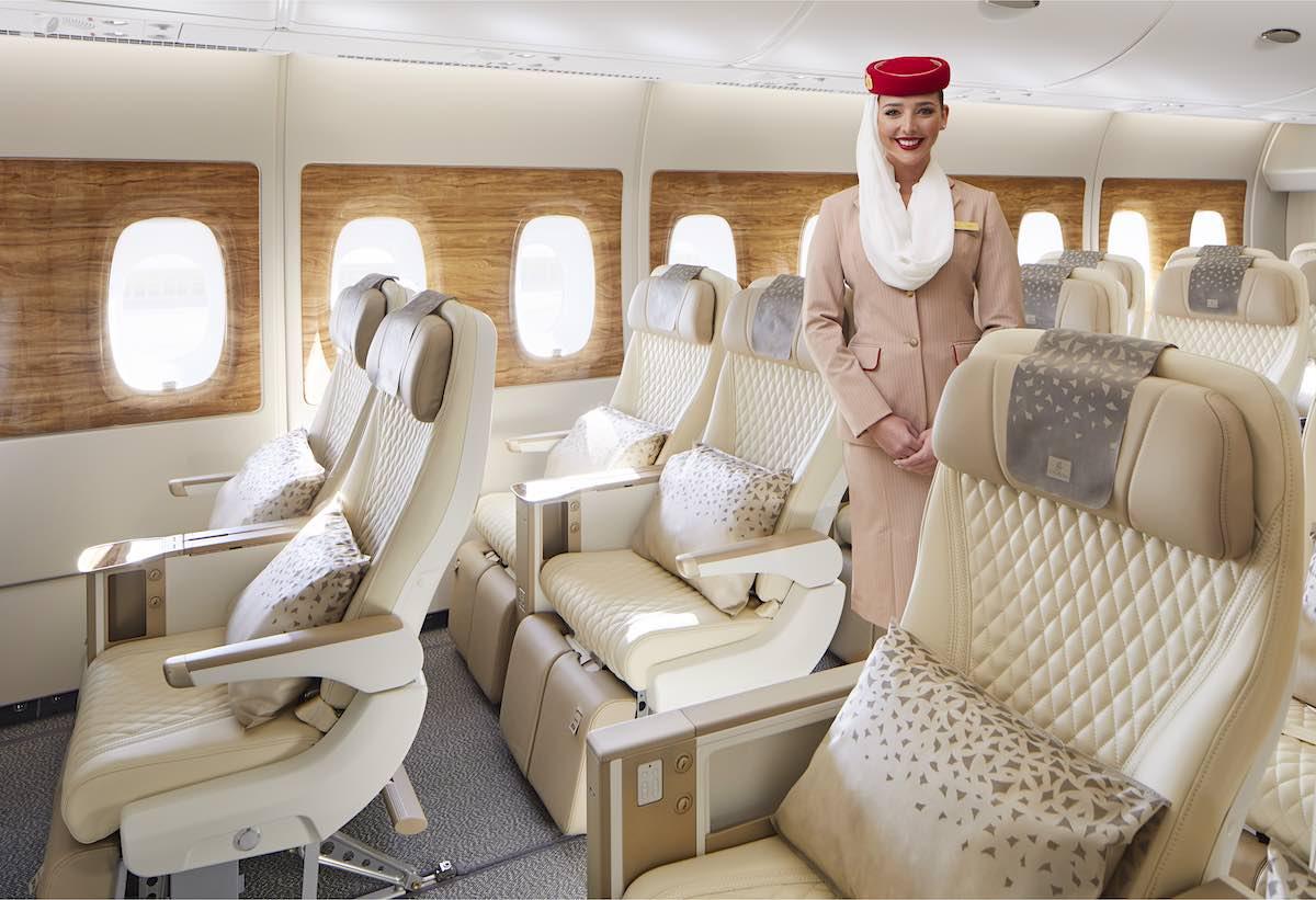 Experiencia de lujo en las alturas: Emirates presenta la nueva Premium Economy Class + mejoras en todas las cabinas del Airbus A380 — chequea su interior