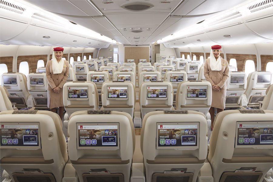 Cada asientos de la nueva cabina tienen una televisión de 13,3 pulgadas (una de las más grandes de su clase)