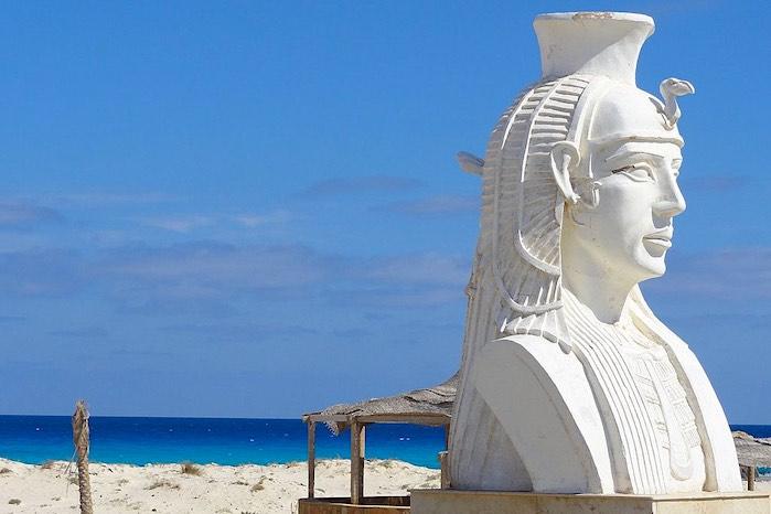 Cleopatra beach en Marsa Matruh, Egipto