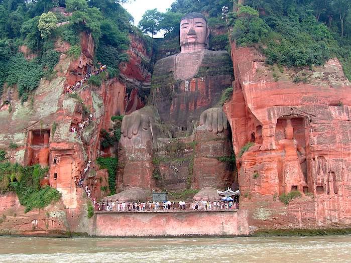 El Gran Buda de Leshan, China