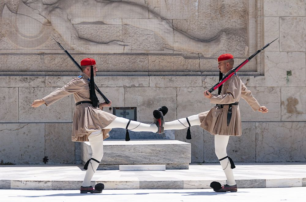La Guardia Presidencial Griega o Evzones