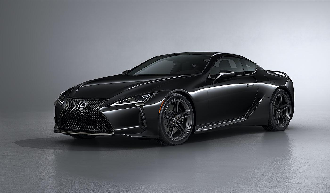 LC 500 Inspiration Series 2021: Lexus eleva a otro nivel su más genial súper coche con fibras de carbono y un color negro inspirado en la aviación