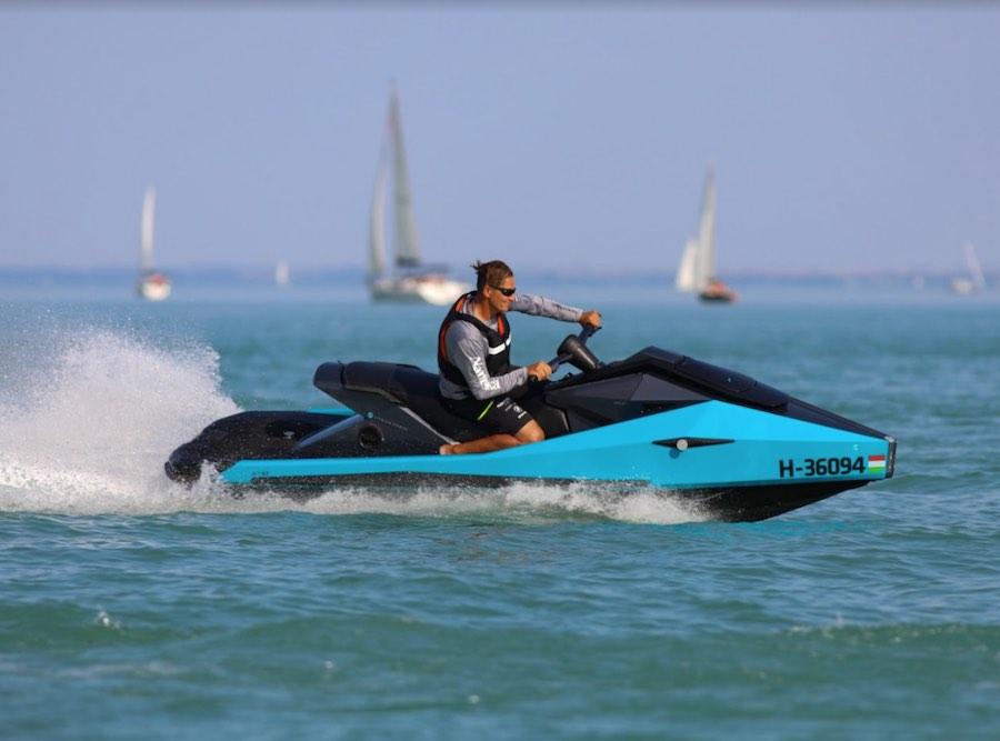 Narke presenta Cyberjet, una moto de agua 100% eléctrica