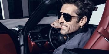 Patrick Dempsey es el nuevo rostro de Porsche Design Eyewear