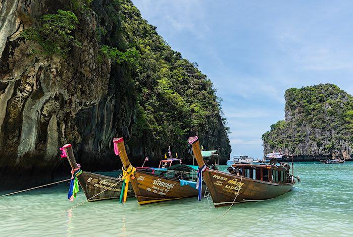 Islas Phi Phi al sur de Tailandia