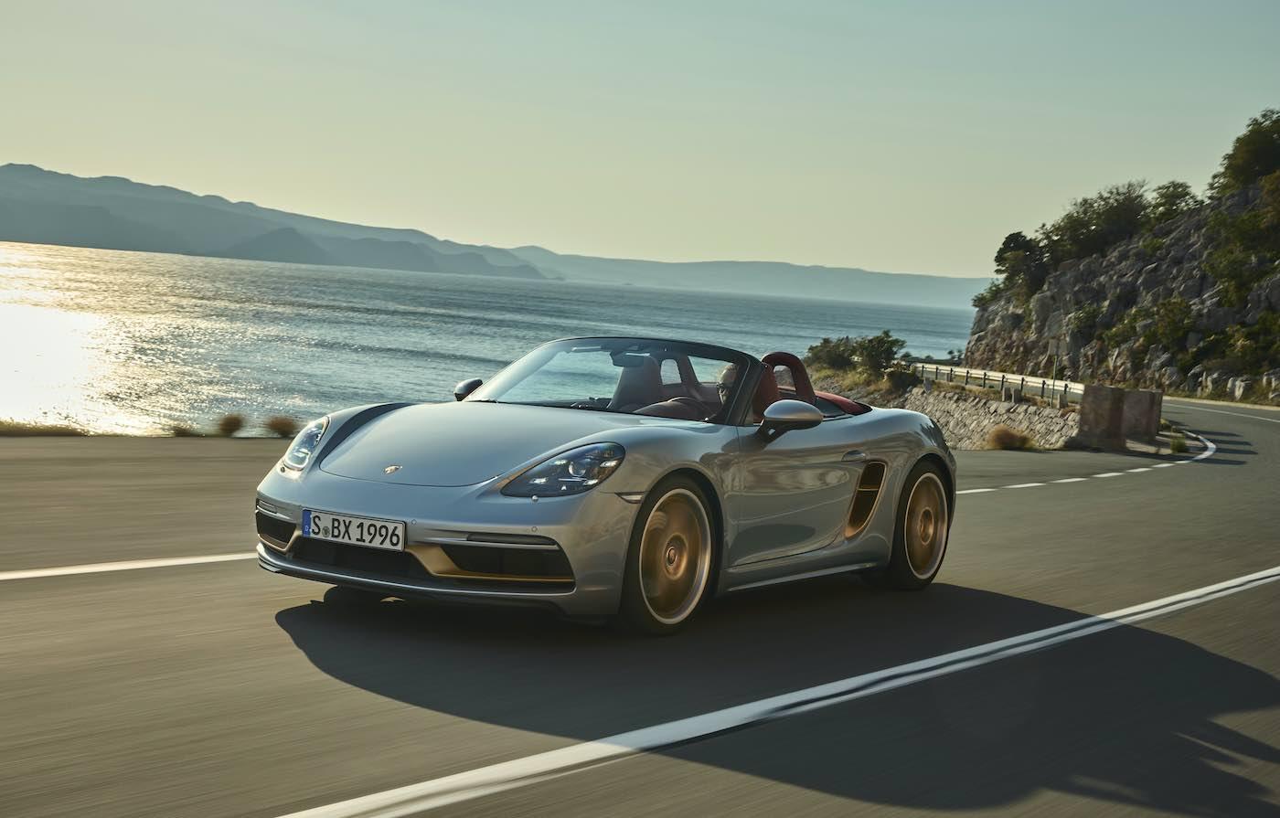 La nueva edición limitada Porsche Boxster 25º Aniversario