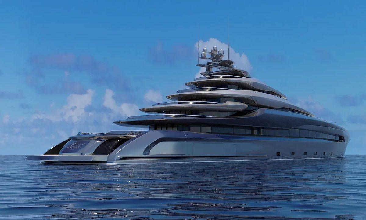 Proyecto Indah, el nuevo superyate de Opalinski Design House