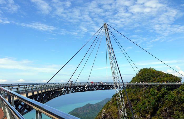 Puente colgante, Langkawi