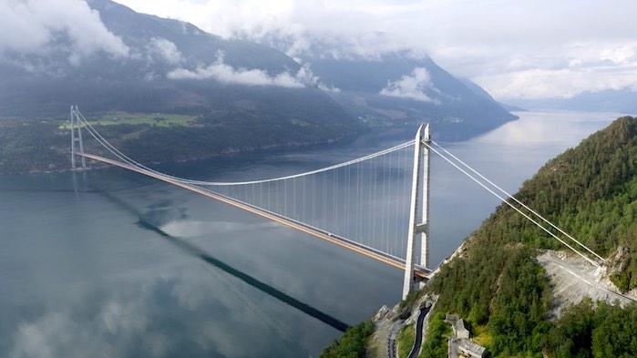 Puente de Hardanger, Noruega