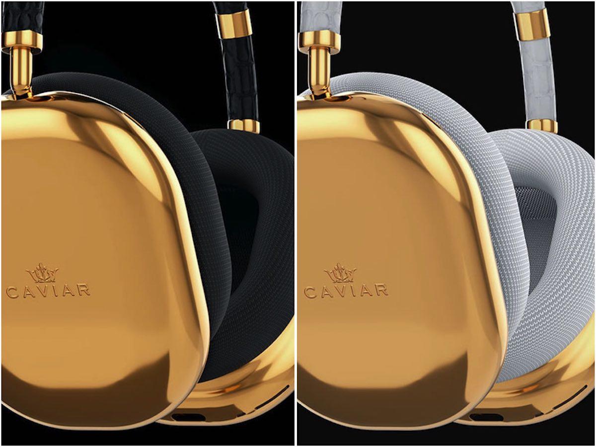 Caviar presentó los auriculares AirPods Max hechos a medida de $108.000