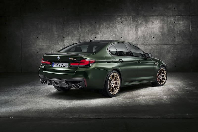 El nuevo BMW M5 CS