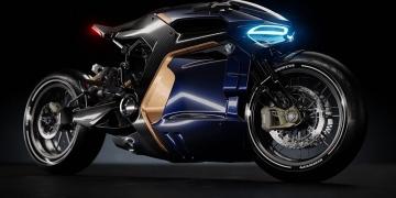 La nueva motocicleta BMW Café Racer, un concepto revestido de carbono concebido por Sabino Leerentveld