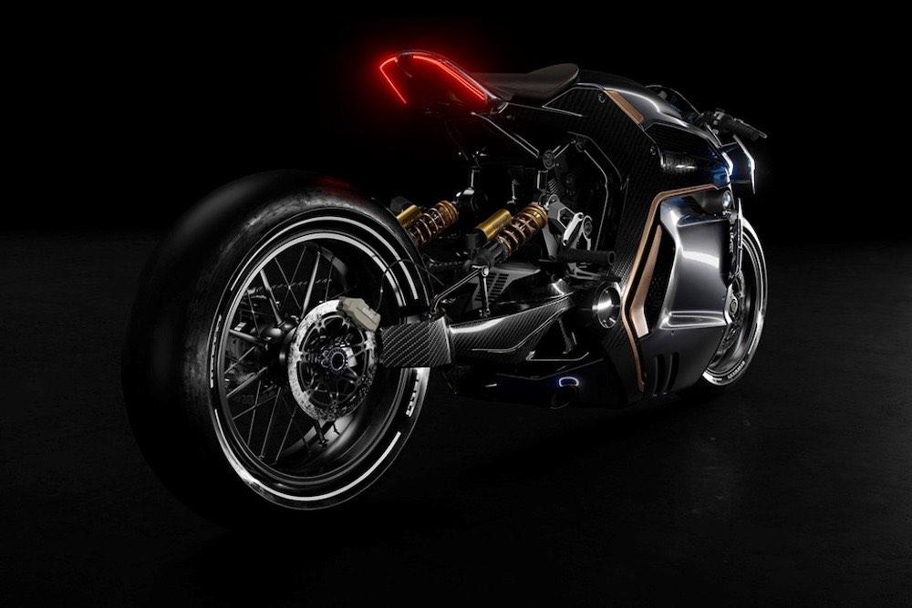 La nueva Motocicleta BMW Café Racer, un concepto de Sabino Leerentveld