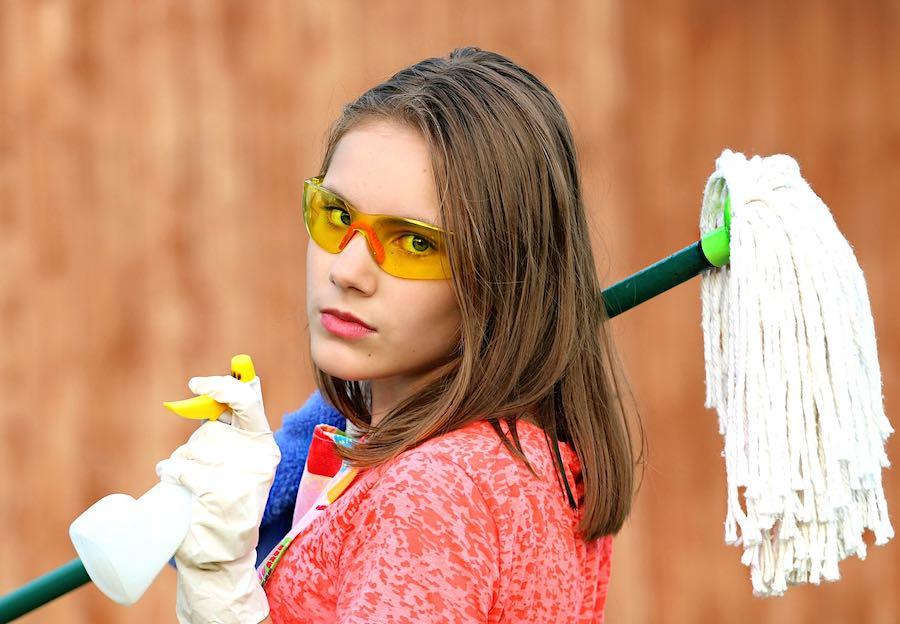 Sanitización y limpieza.