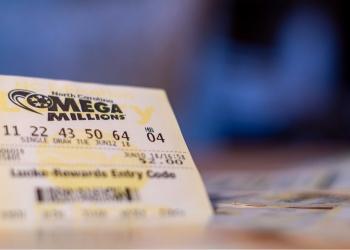 boleto de lotería de Mega Millions