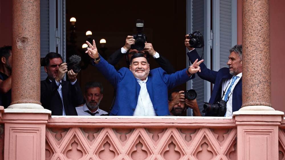 La fortuna de Maradona
