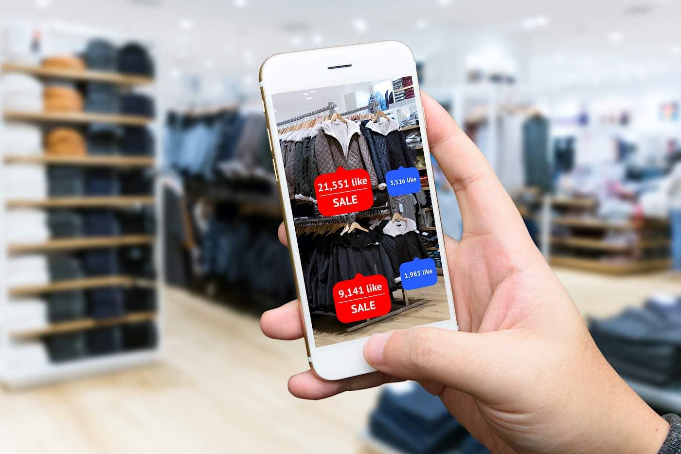 Se estima que en 2020 cien millones de personas compraron utilizando realidad aumentada.