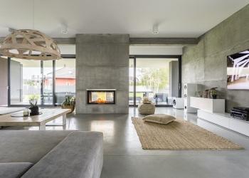 Interior de casa moderna