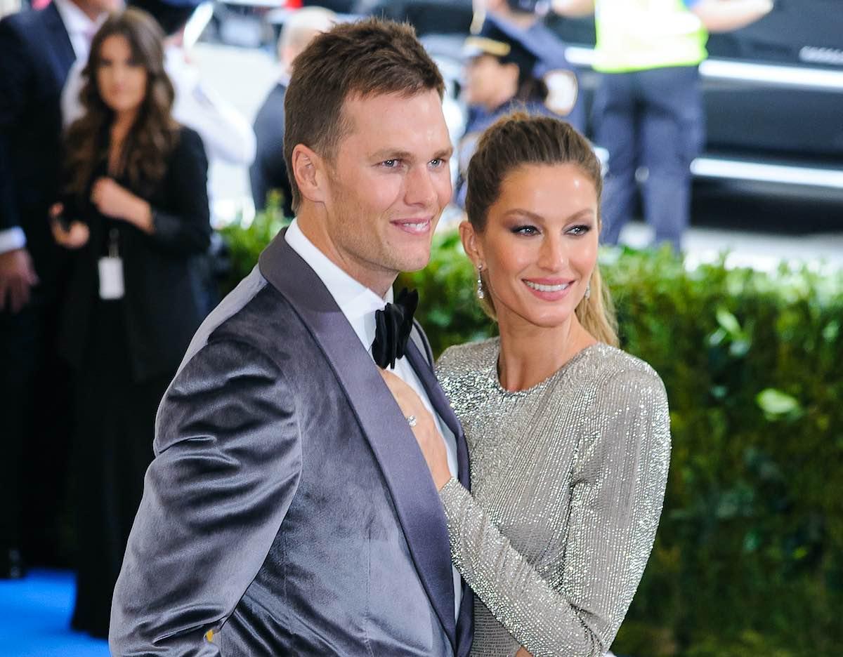 Tom Brady y su esposa, Gisele Bündchen.