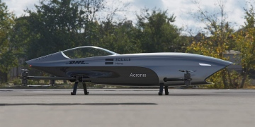 Alauda presenta su Airspeeder mk3, el primer coche de carreras volador eléctrico del mundo