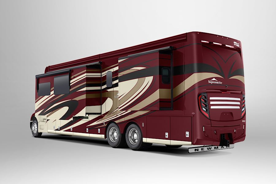 Impresionante autocaravana de lujo por Newmar Corp.