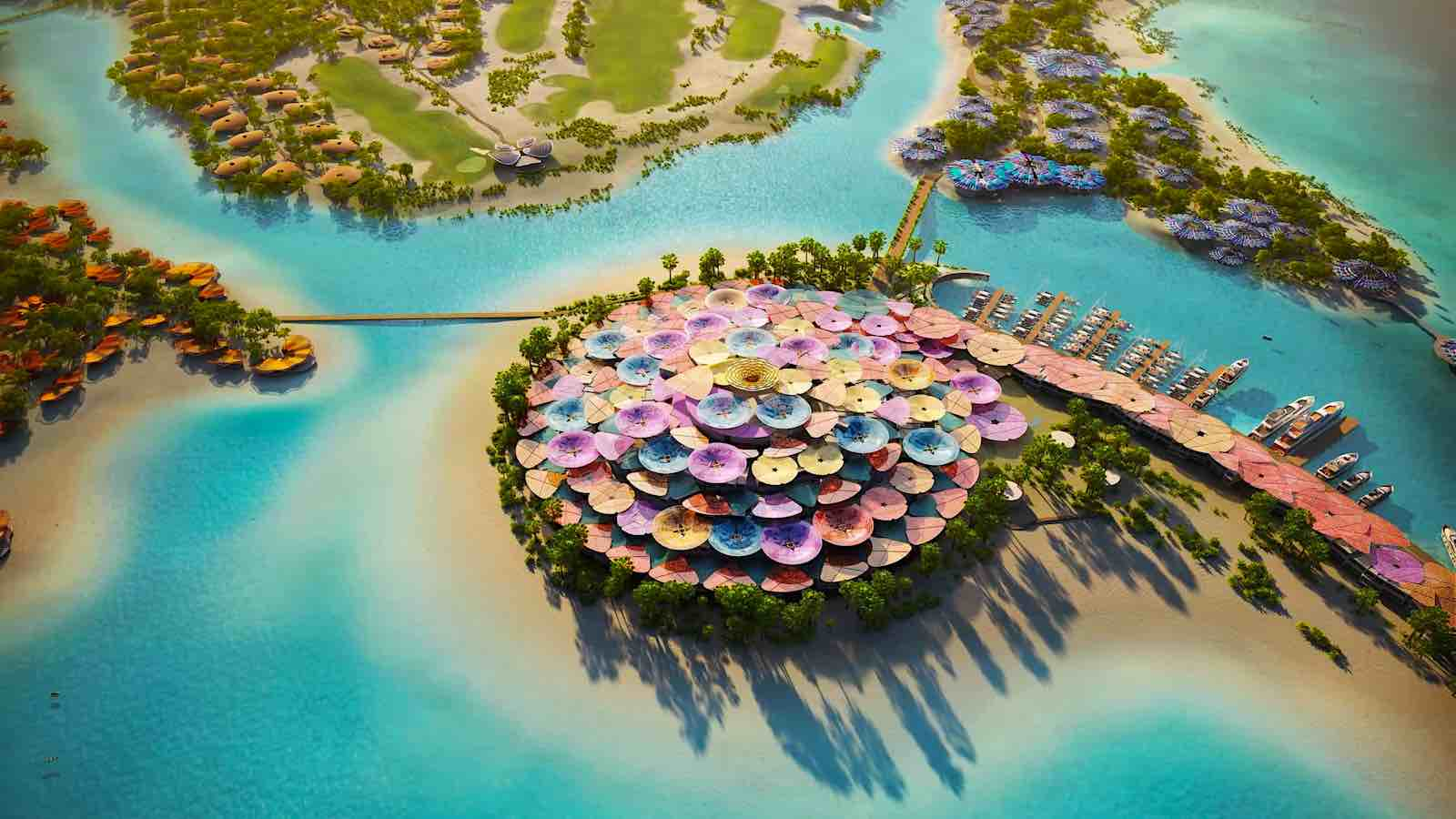 The Red Sea Project: El príncipe heredero de Arabia Saudita, está construyendo este enorme complejo turísticos de lujo y ecológico con 50 resorts, 22 islas, campos de golf y mucho más...