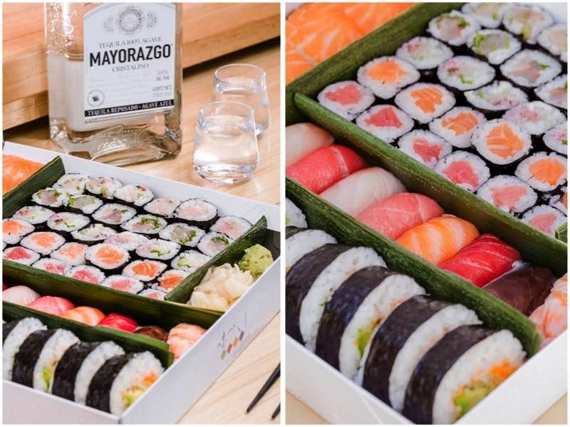 Con motivo del fin de semana de San Valentín, Deigo preparó un Sushi Matsuri pensado para compartir en pareja.