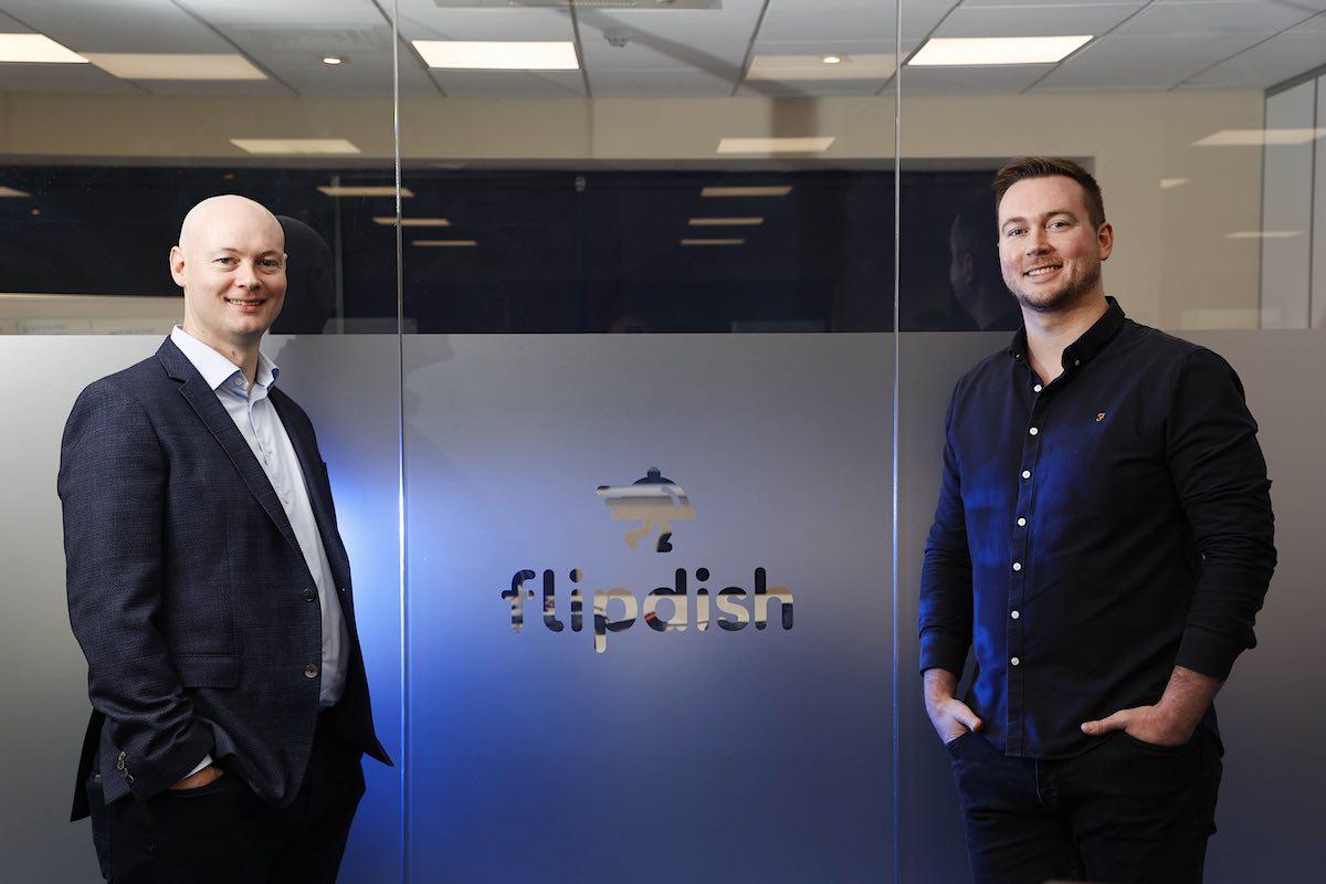 Conor McCarthy, cofounder y CEO / James McCarthy, cofounder y CCO de Flipdish.