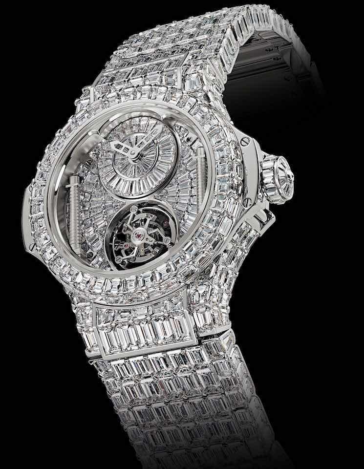 Los 10 relojes de pulsera más caros del mundo.