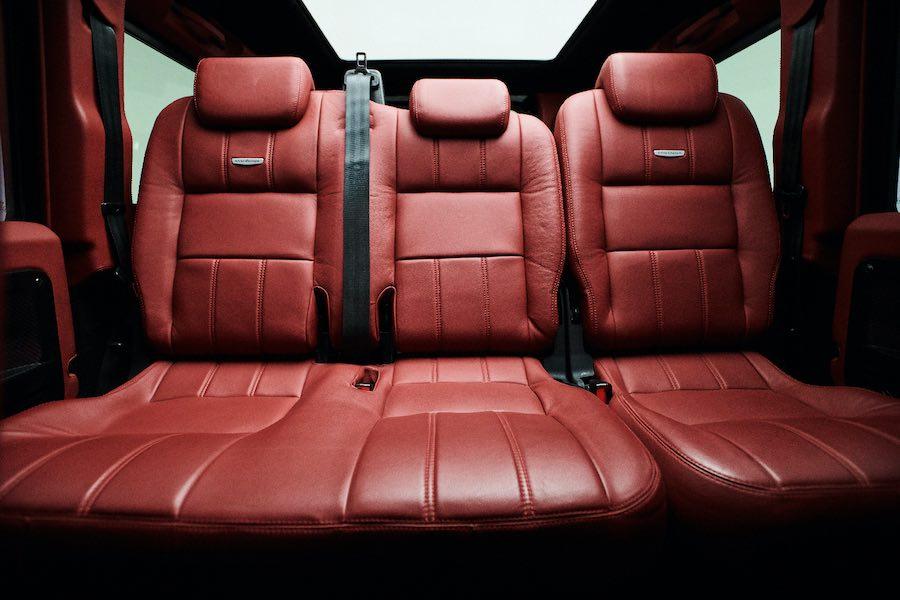 Ares Design rinde homenaje al Land Rover clásico con estructura de fibra de carbono a medida y un potente V8 Power