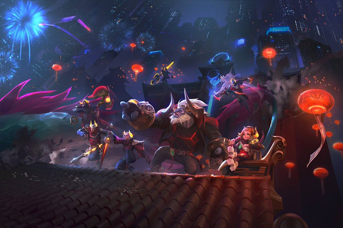 4 de Febrero: Llega el evento de Bestia lunar a League of Legends y Wild Rift