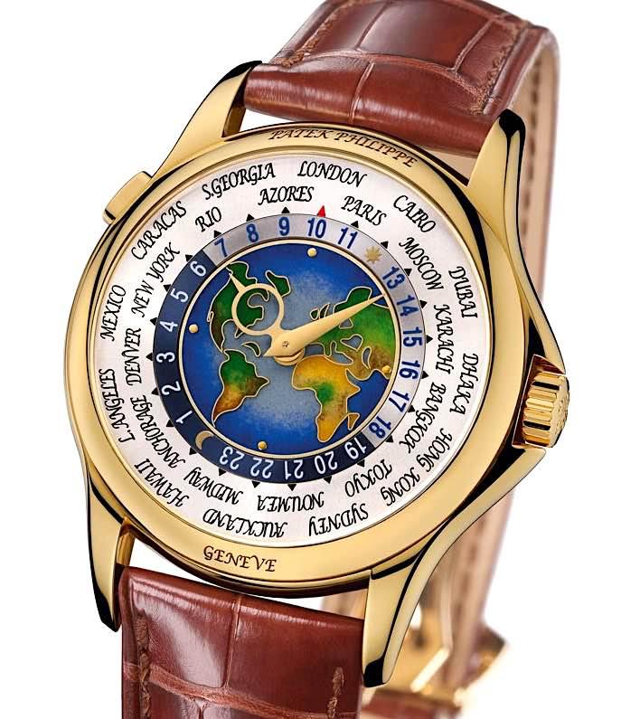 Patek Philippe 1939 Platinum World Time