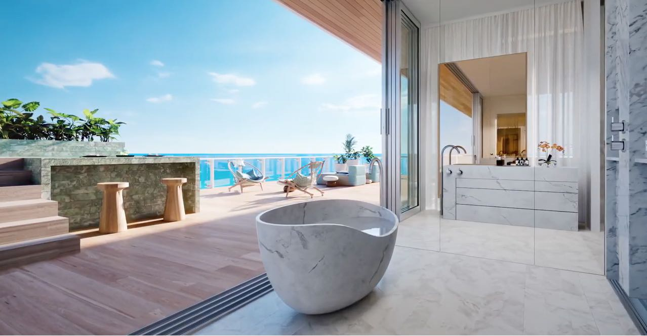 Penthouse 57 Ocean en Miami Beach de $38 millones hace su debut virtual