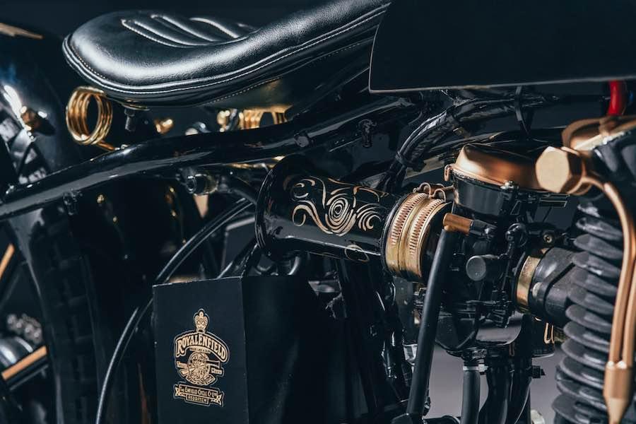 Esta Royal Enfield 500 Bullet personalizada de GDesign te dejará boquiabierto