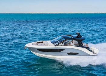 Sea Ray recurre a BMW Designworks para crear el Sundancer 370 Outboard Cruiser