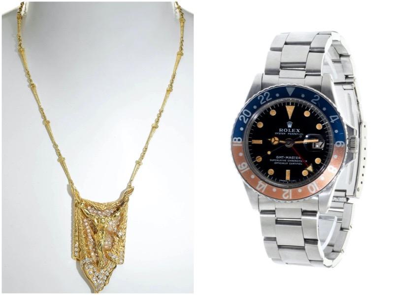 Se subasta en Setdart un amplio abanico de colecciones de joyas y relojes que conforman diferentes épocas de la historia.