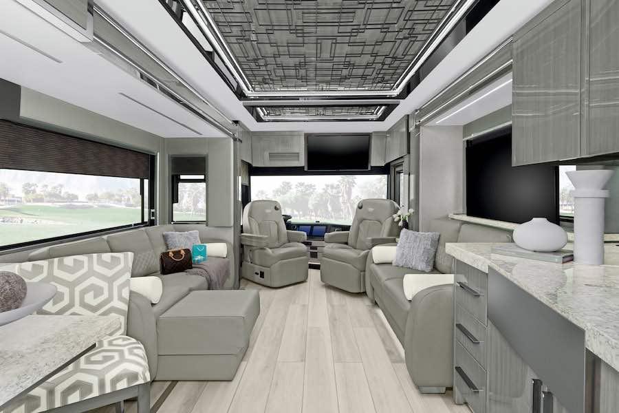 Vea cómo es una casa rodante de un millón de dólares.