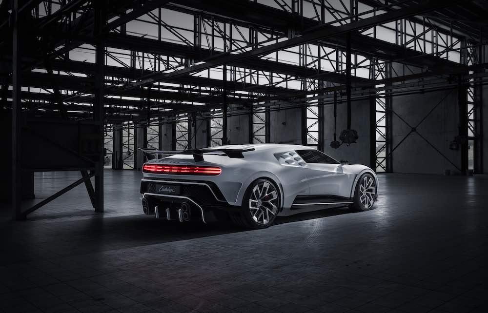 El superdeportivo Bugatti Centodieci