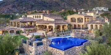 Esta hermosa casa de estilo mediterráneo de +13.000 pies cuadrados en Scottsdale, Arizona se vende por $11,7 millones