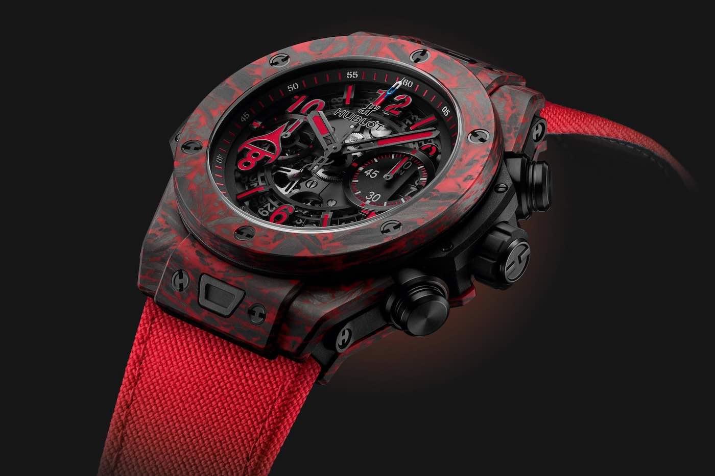 Hublot Big Bang Unico Red Carbon Alex Ovechkin: Un reloj de edición limitada en honor a la estrella rusa del hockey sobre hielo