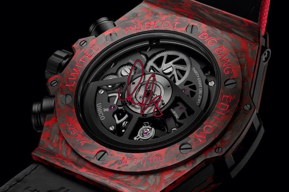 Reloj de edición limitada en honor a la estrella rusa del hockey sobre hielo.