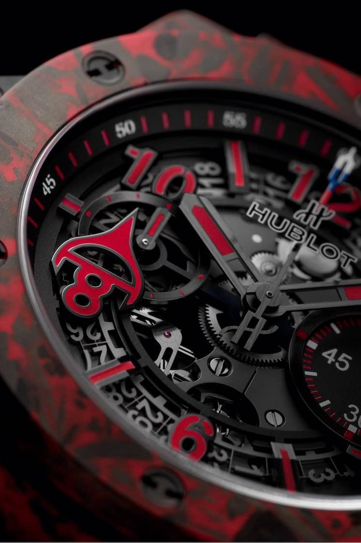 Hublot Big Bang Unico Red Carbon Alex Ovechkin: Reloj edición limitada