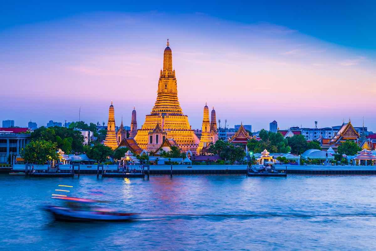 Bangkok, Tailandia: Uno de los principales destinos para viajar en 2021.