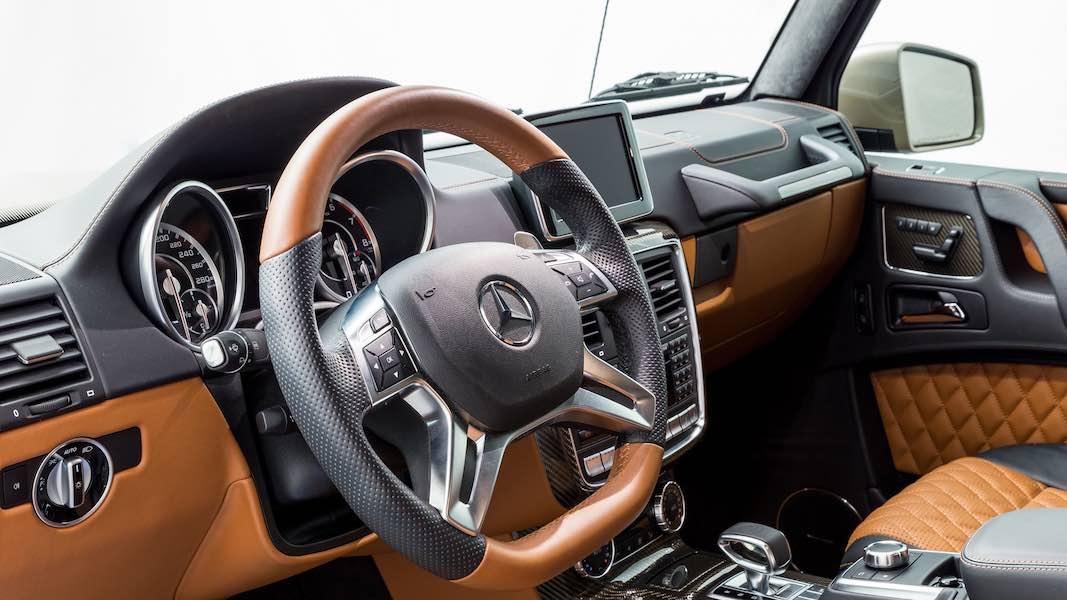 Esta espectacular camioneta Mercedes-Benz G63 AMG 6x6 2015 ahora puede ser tuya por $1,06 millones