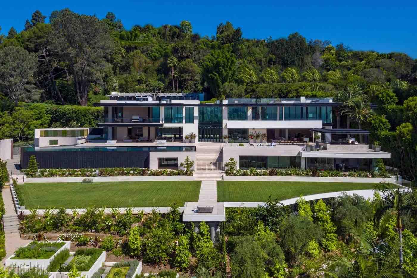 Esta exótica casa de lujo en Bel Air, California está a la venta en 99 millones de dólares