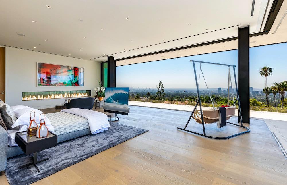 Esta exótica y moderna mansión en Bel Air, California está a la venta en 99 millones de dólares