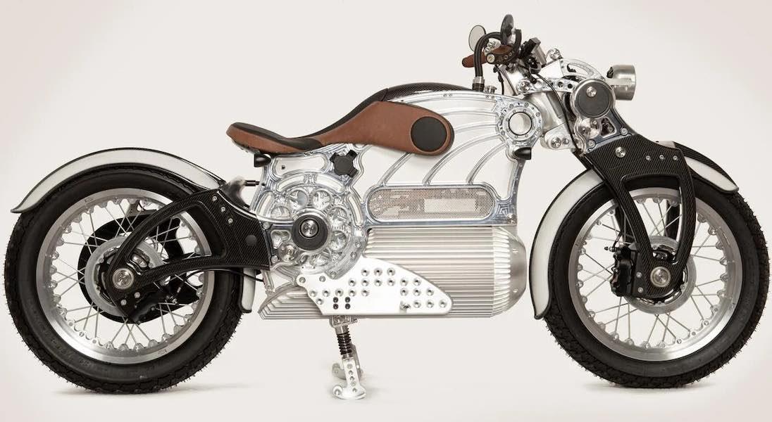 Curtiss One, una impresionante moto eléctrica hecha a mano de 115.000 dólares