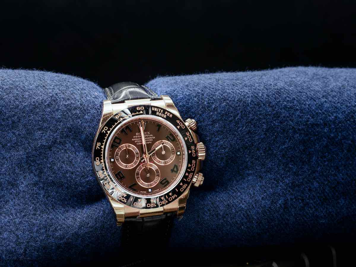 Rolex Daytona Rose Gold.